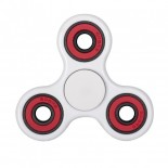 Fidget Spinner White/Red/Black