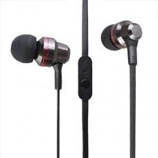 High Performance HeadPhones 3.5m with mic Black