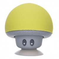 Bluetooth Mushroom speaker Yellow