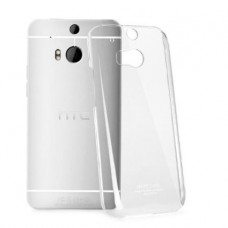 HTC ONE M8 silicone case transparent + Free screen protector