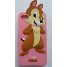 3D Cartoon Silicone case Chip iphone 4 4s