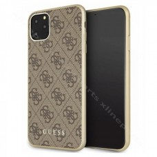 Back Case Guess 4G Collection Apple iPhone 11 Pro Max brown