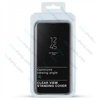 Flip Case Clear View Apple iPhone 7/8/SE (2020) black