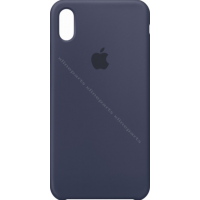 Back Case Apple iPhone XS Max midnight blue