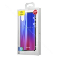 Back Case Baseus Laser Luster Apple iPhone X/XS blue red