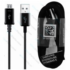 Data Cable Samsung DG925 Micro USB 1m black (Original) bulk