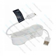 Data Cable Samsung DU4 Micro USB 1.5m white (Original) bulk