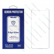 Tempered Glass Edge Glue Samsung Note 9 N960 clear (Case Friendly)
