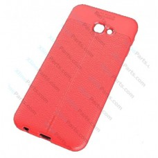 Silicone Case Auto Focus Samsung J4 Plus (2018) J415 red OEM