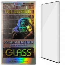 Tempered Glass Edge Glue Samsung Note 10 N970 black (Case Friendly)