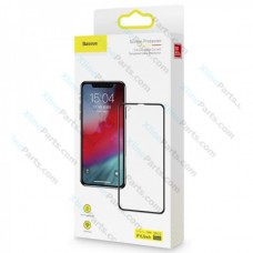 Tempered Glass Baseus Pasting Artifact Apple iPhone 11 (2 Packs) black